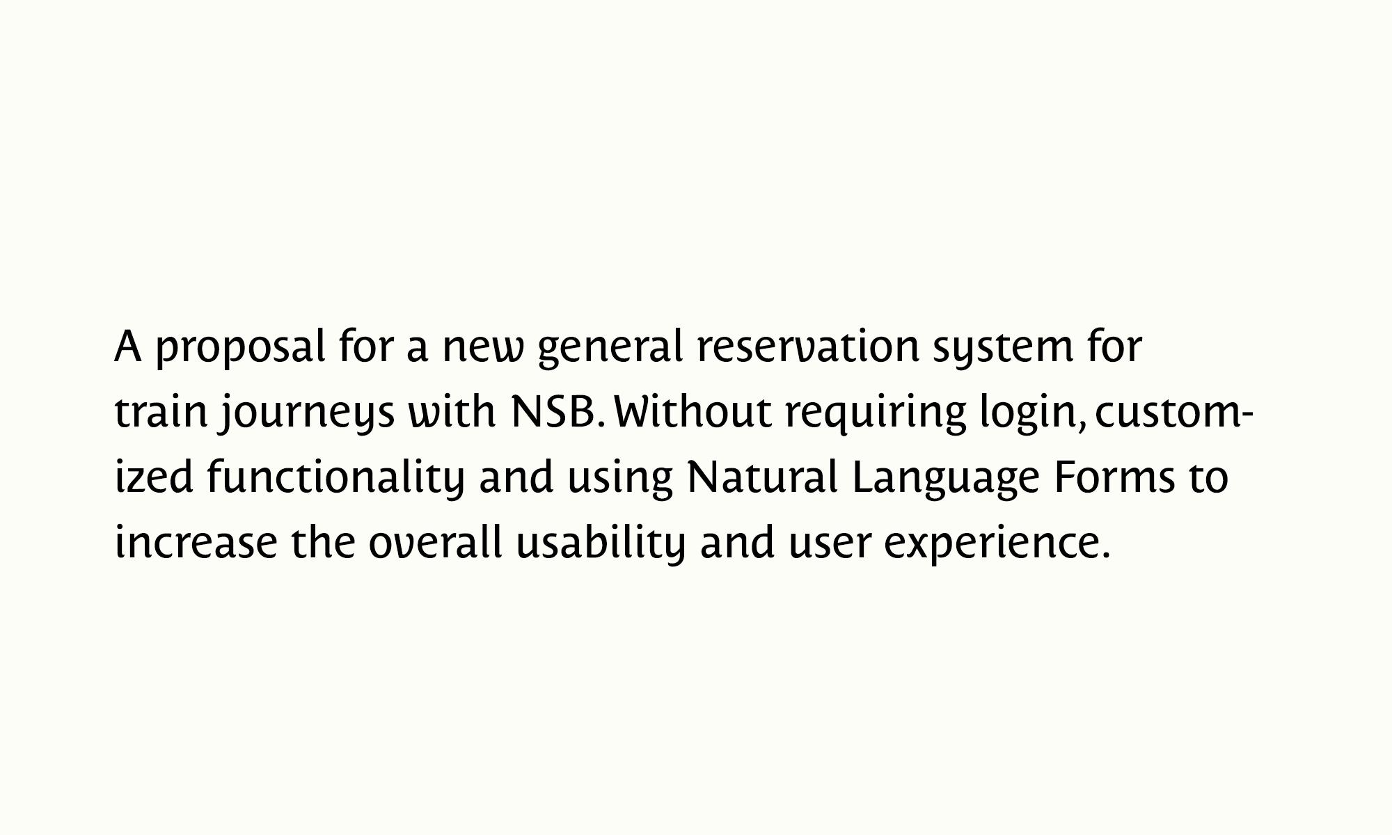 Neno Mindjek - NSB - Reservation system